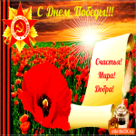 С днём Великой Победы - Счастья, мира и добра
