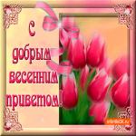 С добрым весенним приветом