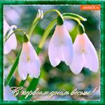 С первым днём любимой весны