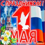 С праздником 1 мая друзей поздравляю