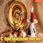 С праздником Пасхи Христос воскрес