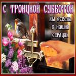 С Троицкой субботой, вы всегда в наших сердцах