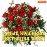 Самые красивые цветы тебе