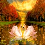 Красивая открытка с осенью
