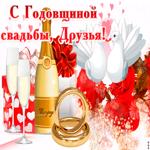 Со свадебной годовщиной, Друзья