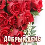Супер Картинка добрый день с розами
