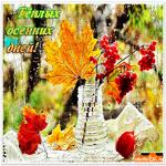 Тёплых дней осенних