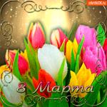 Цветы тебе на 8 марта