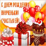 Видео открытка с днем рождения внучки