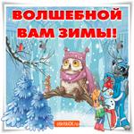 Волшебной вам зимы