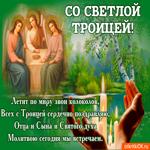 Всех с троицей сердечно поздравляю