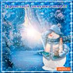 Здравствуй зима