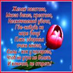 Желаю счастья и здоровья