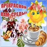Желаю счастья в прекрасный день среды