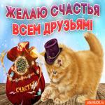 Желаю счастья всем друзьям
