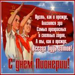Живая открытка День Пионерии