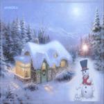 Картинка зима открытка картинка