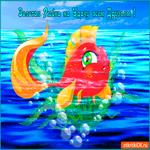 Золотая рыбка на удачу всем друзьям