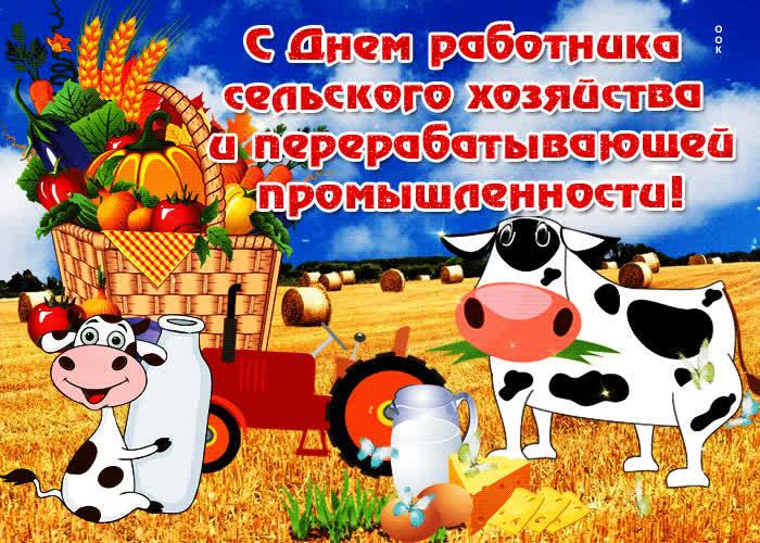 Прикольные поздравления к дню сельхозработника