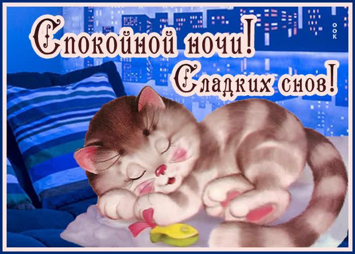 Картинка открытка милых снов
