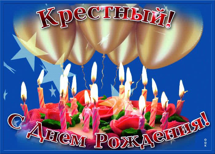 Поздравления крестного отца с днем рождения