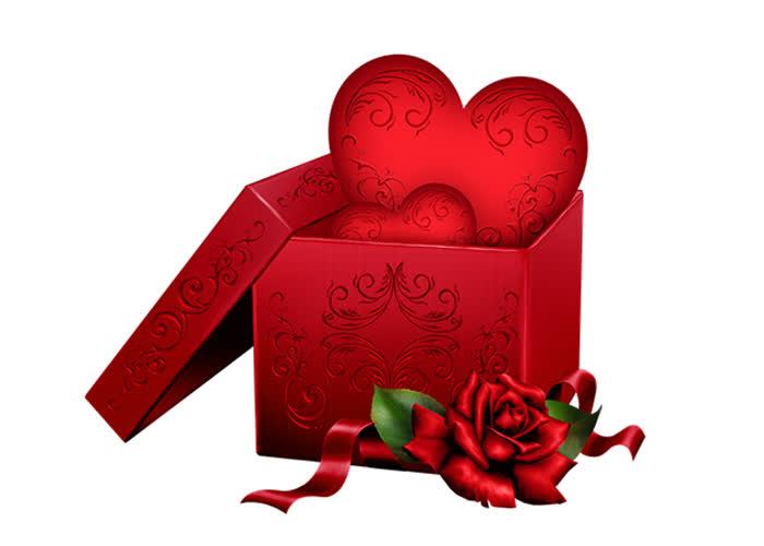 Открытка подарки
