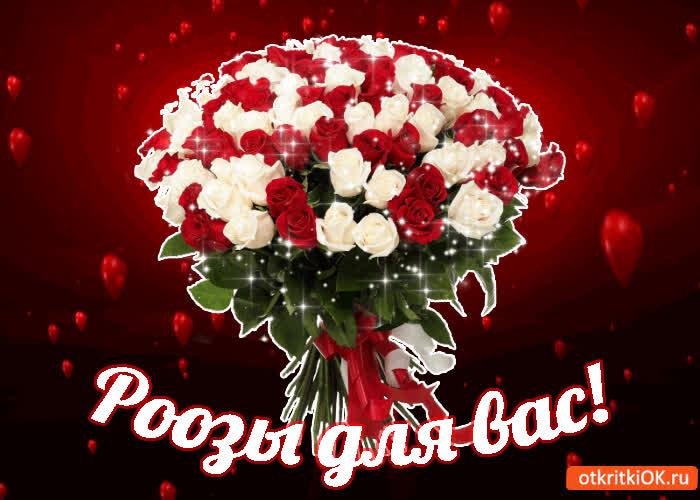 Картинка розы для вас!