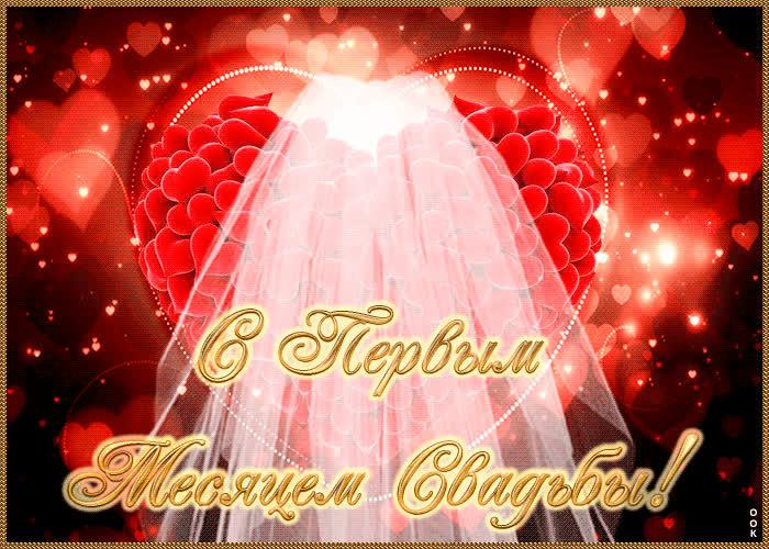 Поздравление на месяц свадьбы детям от родителей
