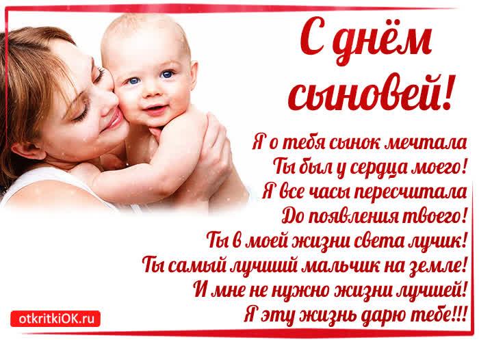 день сына в россии когда обдумать