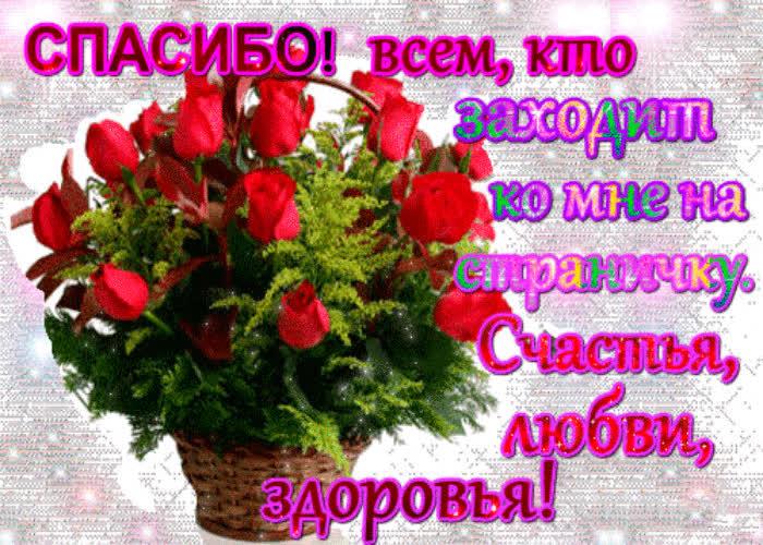 Днем, открытка с благодарностью и пожеланием хорошего дня