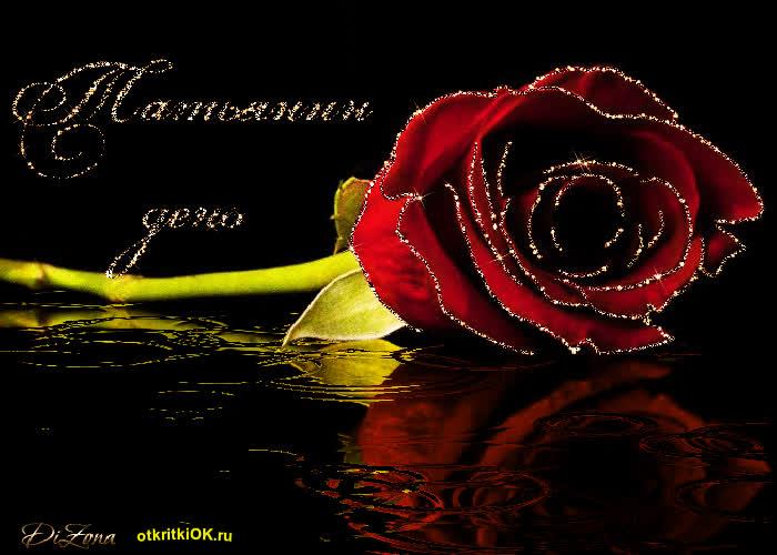 Открытка татьяне цветы, наш любимый