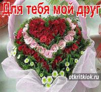 Открытка розы – яркие цветы