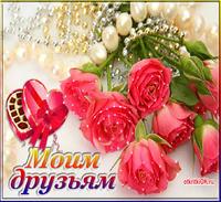 Картинка цветы для друзей