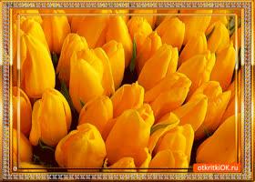 Картинка букет цветов на 8 марта