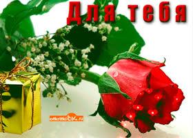 Картинка для тебя цветок любви