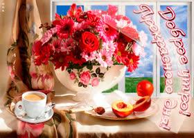 Картинка доброе утро, прекрасного дня