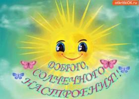 Картинка доброго, солнечного настроения!