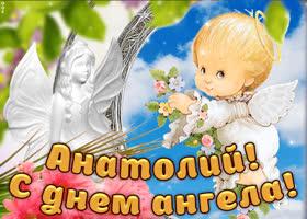 Картинка дорогой анатолий, с днём ангела