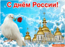 Картинка красивая открытка день россии