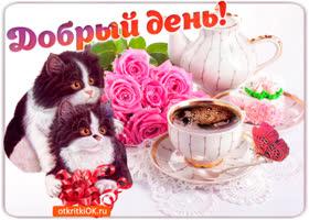 Картинка лучшее пожелание открыткой для доброго дня
