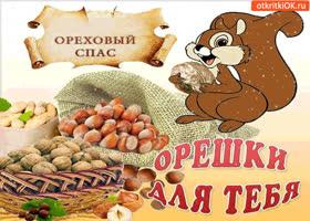 Картинка ореховый спас - орешки для тебя