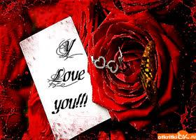 Картинка открытка i love you