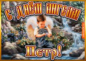 Картинка открытка день ангела петр