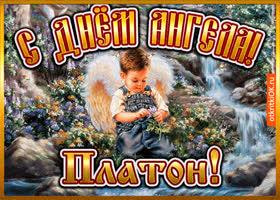 Картинка открытка день ангела платон