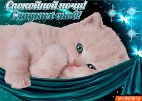 Открытка открытка для тебя, спокойной ночи и сладких снов