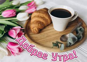 Картинка открытка доброго и радостного утра