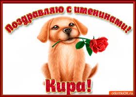 Картинка поздравляю с днём имени кира