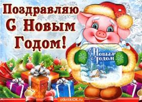 Картинка поздравляю с новым годом