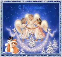 Открытка праздник рождество христово
