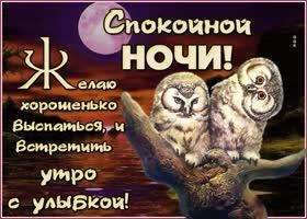 Картинка превосходная открытка спокойной ночи